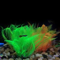 Artificial Silicone Fish Tank Aquarium Coral Plant Ornament Water Decoratio