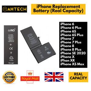 For iPhone 6 6P 6S 6S Plus 7 7P 8 8P SE X XR Xs Max SE Replacement Battery