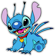 "Lilo & Stitch Kids Cartoon Car Bumper Window Sticker Decal 4.5""X4.5"""
