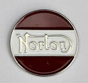 NORTON MOTOR BIKE PIN BADGE NEW