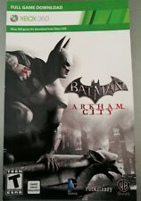Batman: Arkham City (Xbox 360)  Full Game Download Card - Fast Delivery