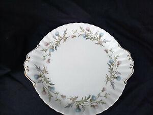 Royal Albert  BRIGADOON Cake Plate. Diameter 10¼  inches.