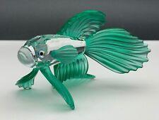 Swarovski Figurine 261259 Veil Betta Green 8,5 Cm. Top Zustand