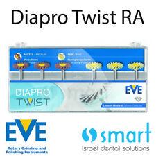 Dental Eve Diapro Twist RA 363 EMax disilicate ceramic polishing diamond system