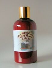 Bay Rum & Lime Handmade After Shave Lotion, New 8 Ounce Bottle