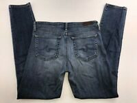 AG ADRIANO GOLDSCHMIED THE PRIMA WOMEN'S MID RISE CIGARETTE JEANS 28R 30 X 31