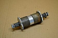 Boitier de pédalier Mavic 600 RD Monobloc 116 mm filetage 35x100 Vintage 80s
