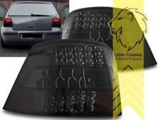 LED Rückleuchten Heckleuchten für VW Golf 4 schwarz smoke