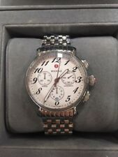 Michele Fluette Diamond MW24A01A1966 Chronograph Stainless Steel Watch