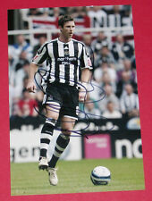 MIKE WILLIAMSON NEWCASTLE UTD HAND SIGNED AUTOGRAPH PHOTO