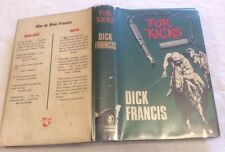 Dick Francis For Kicks First Edition in D/J ** RARE SIGNED COPY **