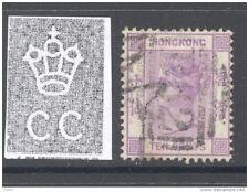 HONG KONG, 1880 10c mauve (wmk Crown CC) VFU, cat £16 (D)