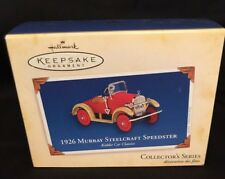 Hallmark Keepsake Ornaments 1926 Murray Sterlcraft Speedster