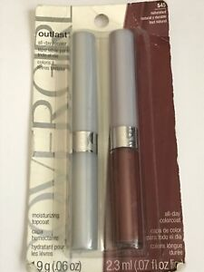 Covergirl Outlast All-Day Lip Color & Top Coat ~ #545 Naturalist *Carded Version