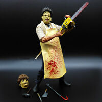 """NECA Texas Chainsaw Massacre Leatherface 7.2"""" Action Figure 40th Anniversary"""