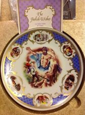 Franklin Mint Les Souhaits Ridicules The Foolish Wishes 1983 Plate