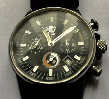 Rare Peugeot chronograph mens watch..Keeps Excellent  time !