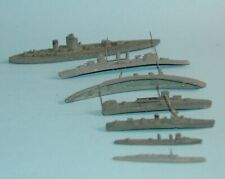 Meccano Dinky Toys pre war SET 50 SHIPS OF THE BRITISH NAVY HMS NELSON 2 SUBS