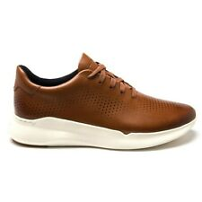 New Mens Cole Haan Tan Gp Rally Runner Leather Shoes Lace Up