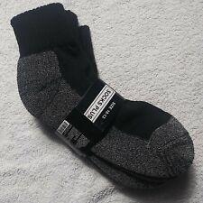 Men' Everyday Performance Sports Ankle Socks  3 Pairs  Sz. 10-13