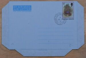 MayfairStamps Cayman Islands 1981 George Town Grand Cayman Used Stationery Aerog