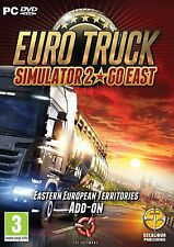 Euro Truck Simulator 2 Go East PC DVD New & Sealed Boxed Physical Disc FREE P&P