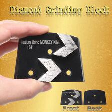 Trapezoid Metal Diamond Concrete Grinding Pad Scraper 16 Grit Medium Bond