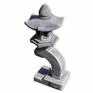 Lanterna pagoda giapponese 1 livello, decorazione importata di thaïlande (10528)