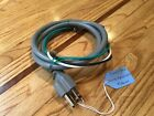 WB18X10469 New POWER CORD OEM Genuine GE General Electric Microwave Oven (Gray) photo
