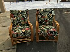 Price Reduced! Vintage Rattan chair and table set