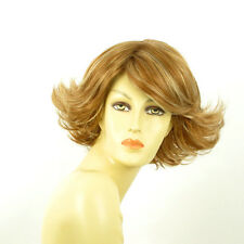 short wig for women blond copper wick light blond ref: FLORE f27613 PERUK
