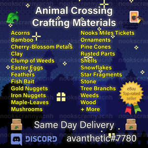 All Materials 🎫 🥇🔔🌸 Top Rated Seller 📦 Crafting Materials Seasonal Tickets
