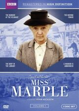 Agatha Christie's Miss Marple: Volume 1 [New DVD] 3 Pack, Subtitled