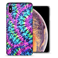Apple iPhone XS Max 6.5 inch Hippie Tie Dye Design Ultraslim Case Cover
