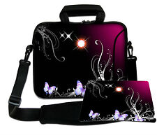 LUXBURG 17,3 Inch Design Laptop Notebook Shoulder Bag with Matching Mousepad #AT
