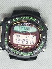 Rare CASIO Vintage Digital Watch ALTI-THERMO 960 ALT-6000 100M PRE PRO TREK ERA