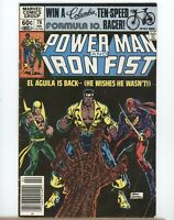 Marvel Comics - Power Man And Iron Fist #78 - 1982 - VG+ to VG/FN 3rd Sabretooth
