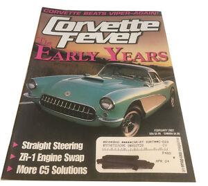 Corvette Fever  Magazine - February 2001