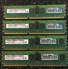 HP Micron 32GB 4x8GB PC3-14900R, pn: 731657-081, 735303-001 Server RAM Memory
