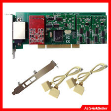 8 Port FXS FXO Card 2U Low Profile TDM Asterisk card Issabel FreePBX tdm800p