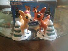 Enesco Rudolph Island Misfit Toys Clarice Salt & Pepper Shakers Set 104569 c2002