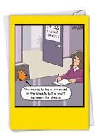 C4658BDG Trumpy Cat: Birthday Card w/ Envelope