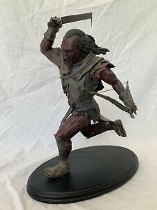 Sideshow Weta - Lord of the Rings Uruk-Hai Scout Swordsman - Statue