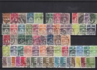 denmark used  stamps   ref 7991