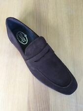 Suede Loafers Round Shoes for Men