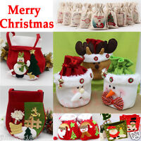 New Santa Pants Christmas Candy Bags Xmas Decoration Wedding Cute Child Gift Bag