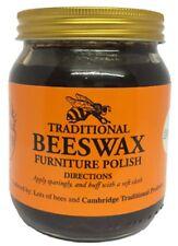 283g Traditional Beeswax Brown Polish Jar Wood Furniture Bees Wax Pot