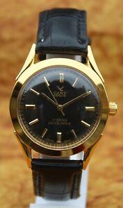 Swiss Vintage CAMY Geneva 17Jewels FHF ST96 Hand Wind Mechanical Mens Wristwatch