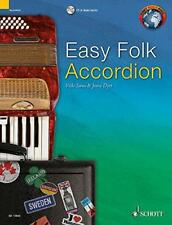 Easy Folk Accordion: 29 Traditional Pieces (Schott World Music) by Paperback