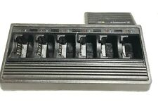 Motorola Ntn1177D 6-Slot Battery Charger Charging Cradle - bids
